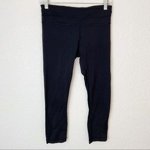 Lululemon Black Crop Leggings 6